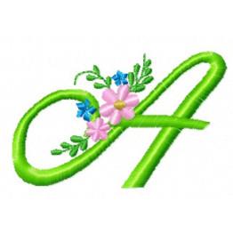 Brinde - Matrizes de Alfabeto Florais