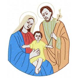 Matriz De Bordado Sagrada Família
