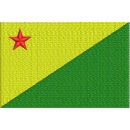 Matriz de Bordado Bandeira Acre