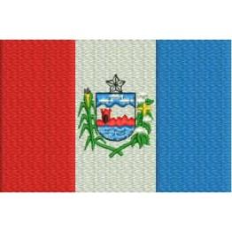 Matriz de Bordado Bandeira Alagoas