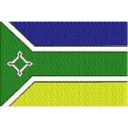 Matriz de Bordado Bandeira Amapa