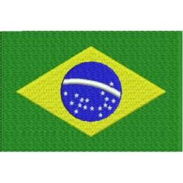 Matriz de Bordado Bandeira do Brasil