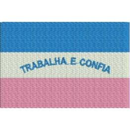 Matriz de Bordado Bandeira Espirito Santo