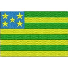 Matriz de Bordado Bandeira Goiás