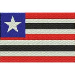 Matriz de Bordado Bandeira Maranhão