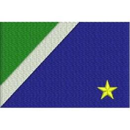 Matriz de Bordado Bandeira Mato Grosso do Sul
