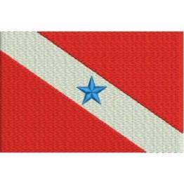 Matriz de Bordado Bandeira Pará