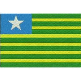 Matriz de Bordado Bandeira Piauí