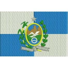 Matriz de Bordado Bandeira Rio de Janeiro