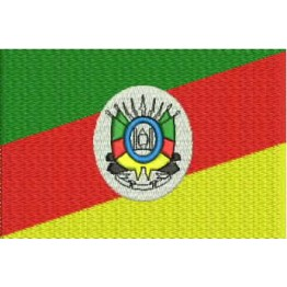 Matriz de Bordado Bandeira Rio Grande do Sul