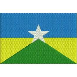 Matriz de Bordado Bandeira Rondônia