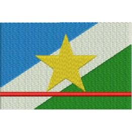 Matriz de Bordado Bandeira Roraima