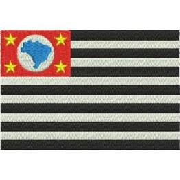 Matriz de Bordado Bandeira de São Paulo