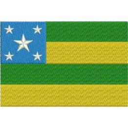 Matriz de Bordado Bandeira Sergipe