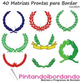 Matrizes de Bordado Ramos