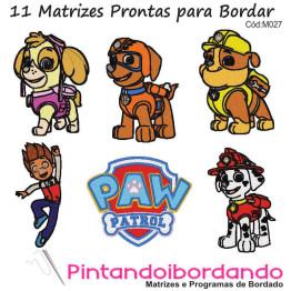 Matrizes de Bordados Patrulha Canina