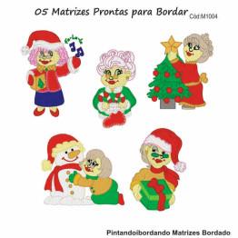 Matrizes De Bordado Natal da Vovó