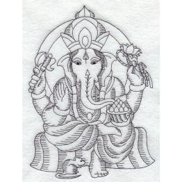 6 Matrizes para bordar Hindus