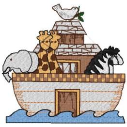 2 Matrizes De Bordar Arca de Noé