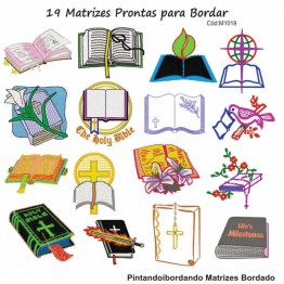 19 Matrizes De Bordado Biblia Sagrada