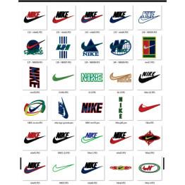 Matrizes de Bordados Logo Nike Variados