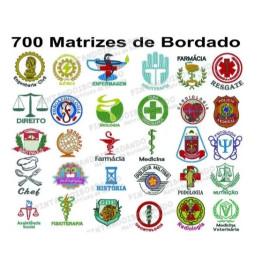 700 Matrizes de Bordado Profissões - Coleção 2019!
