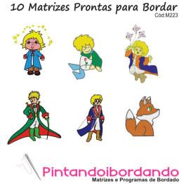 Matrizes de Bordados Pequeno Príncipe