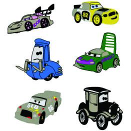 Matrizes de Bordado Carros Disney