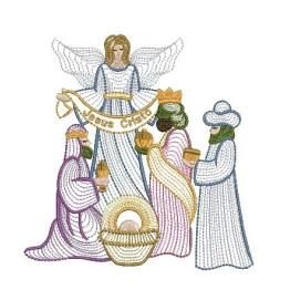 10 Matrizes de Bordar Nascimento De Jesus Rippled