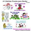 49 Matrizes para bordar frases mamães