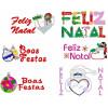 52 Matrizes para Bordar Feliz Natal, Boas Festas!!