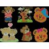 500 Matrizes De Bordado Ursos Nova Coleção - 2018