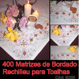 400 Matrizes De Bordar Richelieu - PROMOÇÃO!!