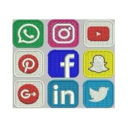 Matrizes De Bordados Redes Sociais
