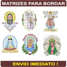 Matrizes Para Bordar Santos Diversos - 110 MATRIZES