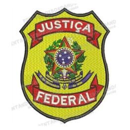 Matriz para Bordar Justiça Federal em .EMB