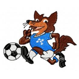 Matriz de Bordado Mascote Cruzeiro