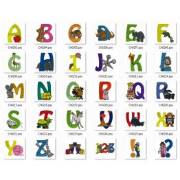 Matrizes para Bordar Alfabeto Infantil