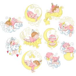 30 Matrizes de Bordar Hora de Dormir Infantil
