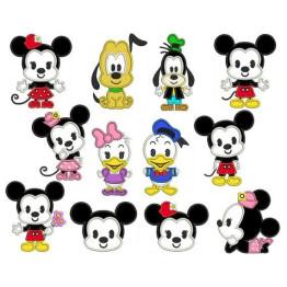 Matrizes para bordar Babys Mickey e sua Turma Apliques
