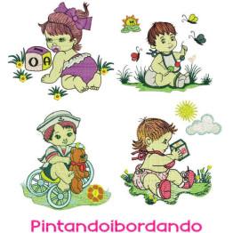 Matrizes de Bordado Infantil Bebês