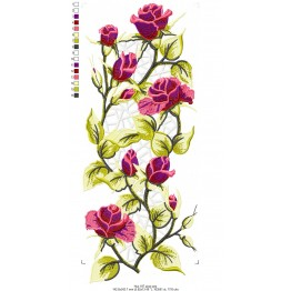 Matrizes De Bordado Flores em Richilieu
