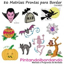 Matrizes De Bordado Halloween - Bruxas