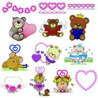 Matrizes De Bordado Dia do Amor - Dia dos Namorados