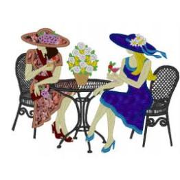 7 Matrizes para Bordar Mulheres Elegantes