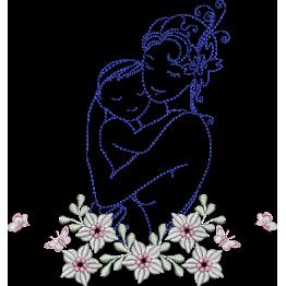 Matriz de Bordar Dia das Mães