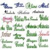 400 Matrizes De Bordar com Nomes e Fontes Variadas