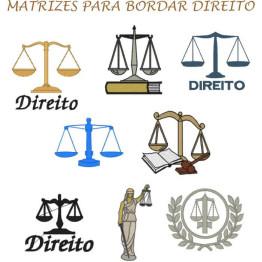 Matrizes De Bordado Direito