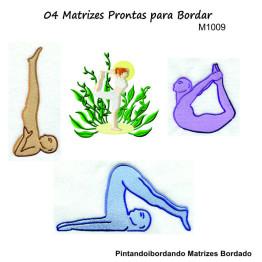 Matrizes de Bordado Yoga