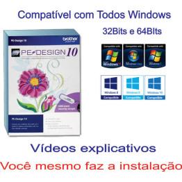 Pe Design 10 Português + CURSO